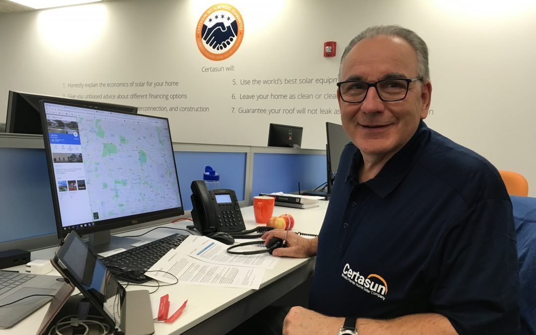 Meet Bill, Bringing Solar to McHenry County