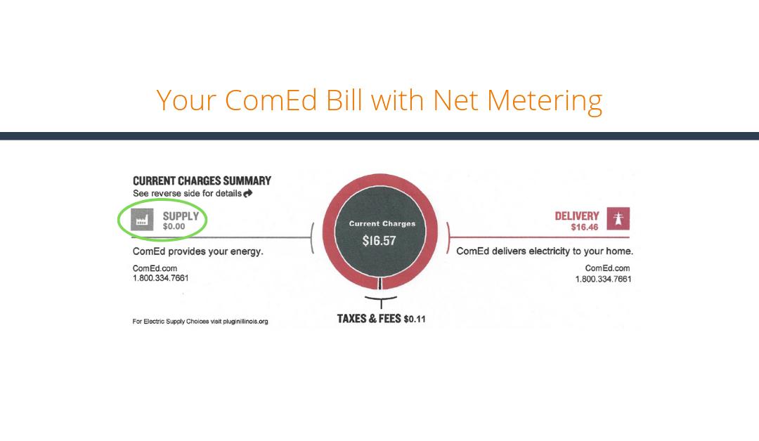 Understanding Your ComEd Bill with Net Metering